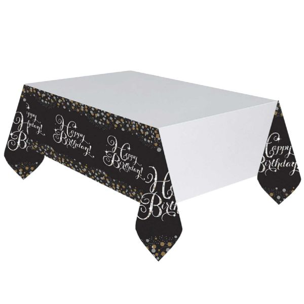 Gold Celebration Table Cover